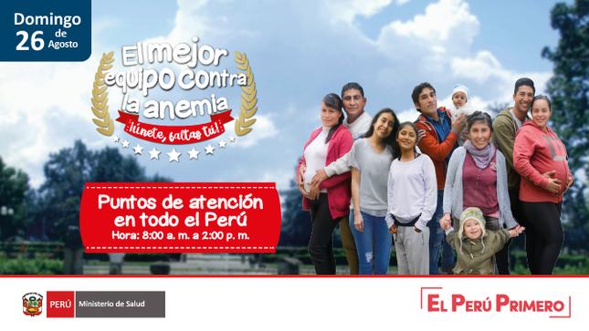 Ver campaña Cuarta Jornada Nacional contra la Anemia