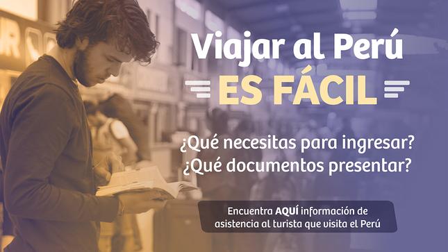 Ver campaña Información de asistencia al turista que visita el Perú