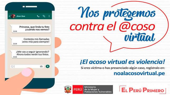 Ver campaña Alerta contra el Acoso Virtual