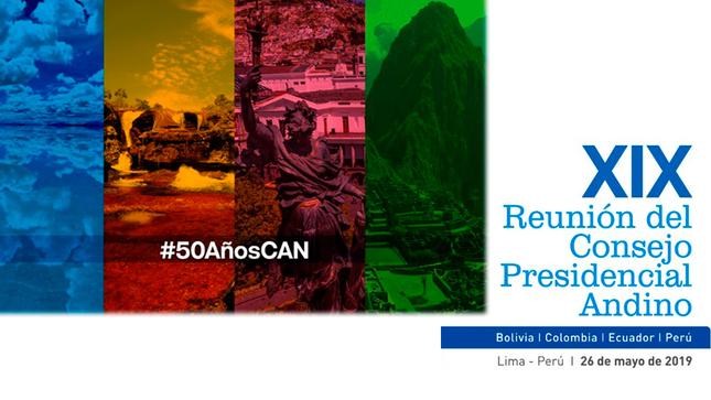 Ver campaña Reunión del Consejo Presidencial Andino