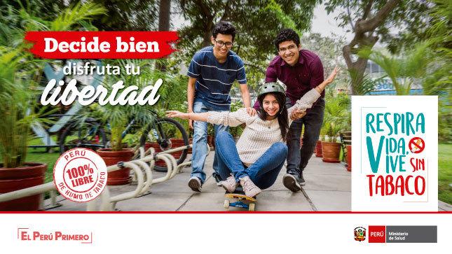 """Ver campaña """"Respira Vida, Vive Sin Tabaco"""""""