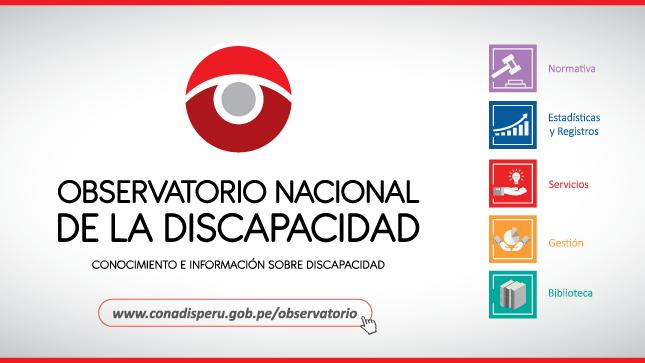 Observatorio Nacional de la Discapacidad
