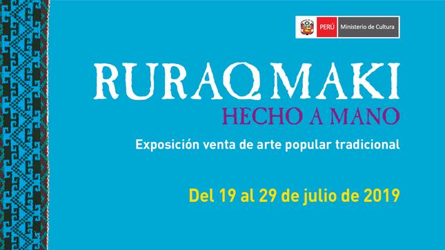 Ver campaña Ruraq maki, Hecho a mano – julio 2019