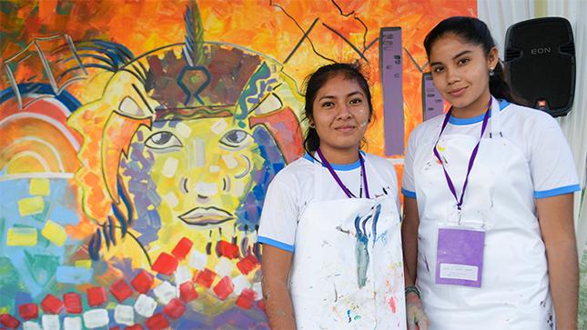"""Ver campaña Este año los Juegos Florales presentan el Concurso Murales de la Libertad: """"El país que Imaginamos"""". Las inscripciones están abiertas"""