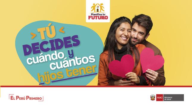 Ver campaña Planifica tu futuro: Tú decides cuándo y cuántos hijos tener