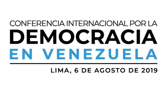 Ver campaña Conferencia Internacional por la Democracia en Venezuela