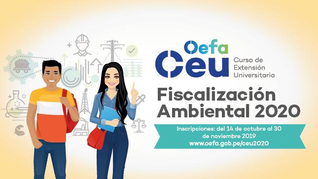 Ver campaña Curso de Extensión Universitaria en Fiscalización Ambiental 2020