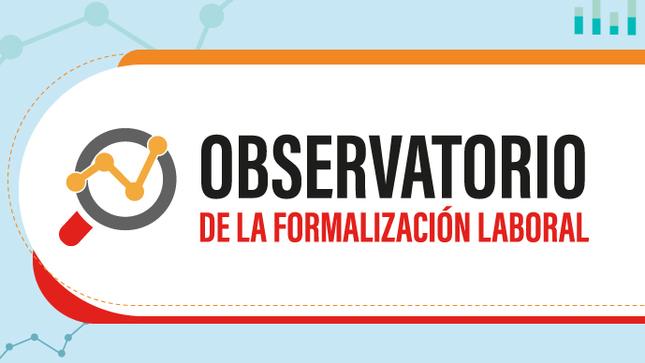 El Observatorio de la Formalización Laboral es un instrumento de producción, análisis y difusión de información especializada de la situación del empleo formal e informal, a nivel nacional y regional.