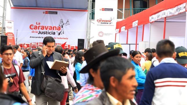 Ver campaña La Caravana de la Justicia del MINJUSDH