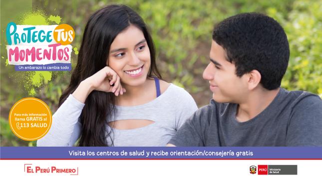 """Ver campaña Campaña de Prevención del Embarazo Adolescente: """"Protege tus momentos, un embarazo lo cambia todo"""""""