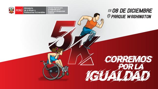 """Ver campaña Carrera 5K """"Corremos por la Igualdad"""""""