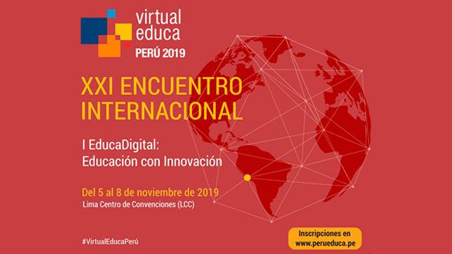 Ver campaña Participa del XXI Encuentro Internacional Virtual Educa Perú 2019