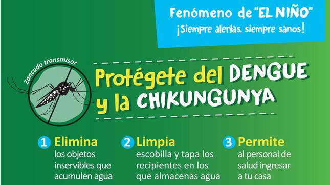 Ver campaña Protégete del Dengue y la Chikungunya