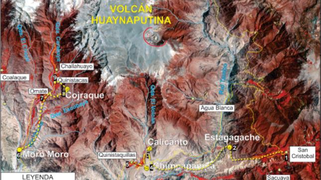 Ver campaña Primera Excursión Geoturística - Ruta del Huayruro: Pueblos sepultados por la erupción del Volcán Huaynaputina de 1600 DC