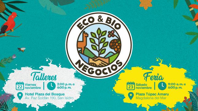 Ver campaña Expo Eco y Bionegocios: Biomatch 2019