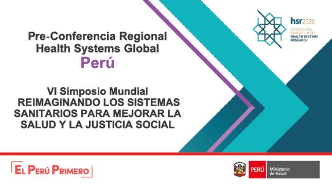 """VI Simposio Mundial """"Reimaginando los sistemas sanitarios para mejorar la Salud y la Justicia Social"""""""