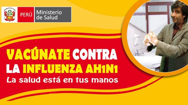 Ver campaña Vacúnate contra la Influenza AH1N1