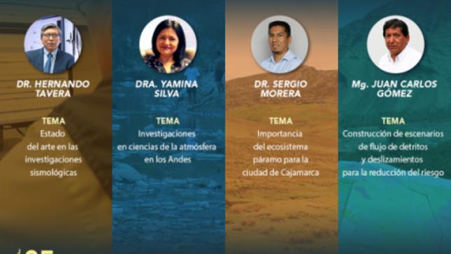 Ver campaña Cátedra IGP: Investigadores formando investigadores en Cajamarca