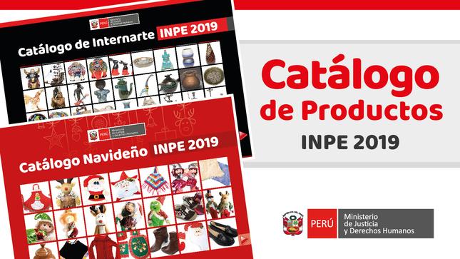 Ver campaña CATÁLOGO DE PRODUCTOS INPE 2019