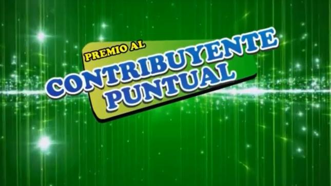 Ver campaña CAMPAÑA PREMIO AL CONTRIBUYENTE PUNTUAL