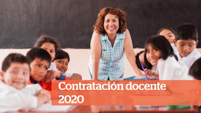 Ver campaña Contrato docente 2020