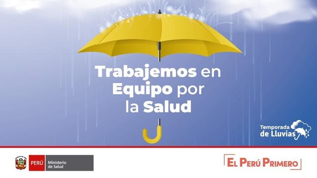 """Ver campaña  Campaña por Temporada de Lluvias: """"Trabajemos en Equipo por la Salud"""""""