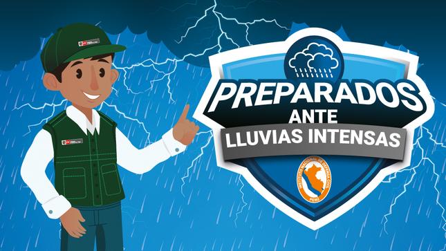¡Preparados ante lluvias intensas!