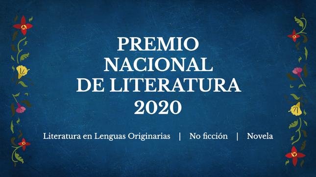 Ver campaña Premio Nacional de Literatura 2020