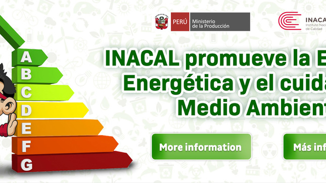 Ver campaña Inacal Promueve la Eficiencia Energética y el Cuidado del Medio Ambiente