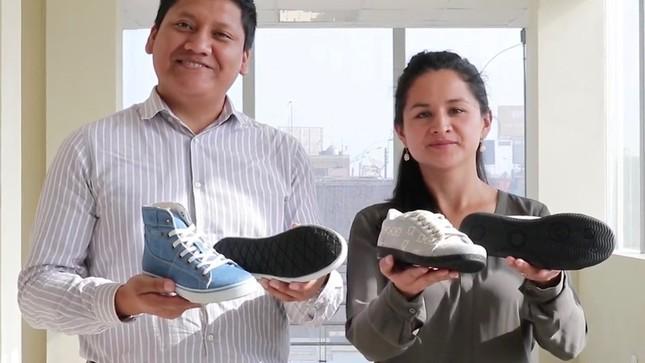 Ver campaña Crean calzado hecho a base de material reciclado