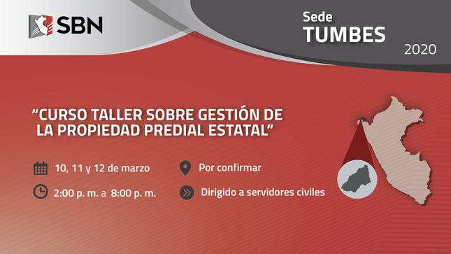 Ver campaña CURSO TALLER SOBRE GESTIÓN DE LA PROPIEDAD PREDIAL ESTATAL