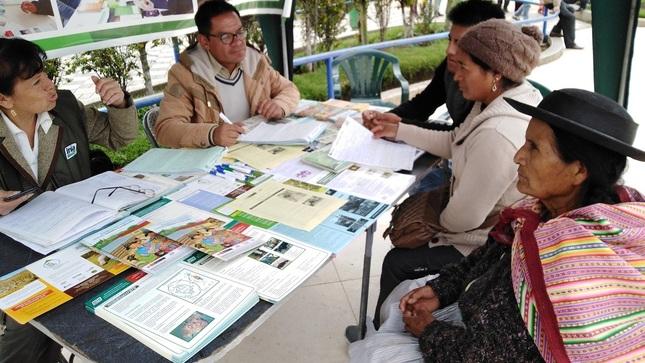 """Ver campaña Módulo """"Clínica de Plantas"""" en Pucará (25/02/2020)"""