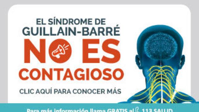 Ver campaña El Síndrome de Guillain-Barré no es contagioso