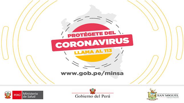 Ver campaña Coronavirus en el Perú