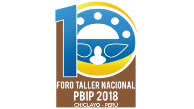 Ver campaña Foro Taller Nacional PBIP 2018