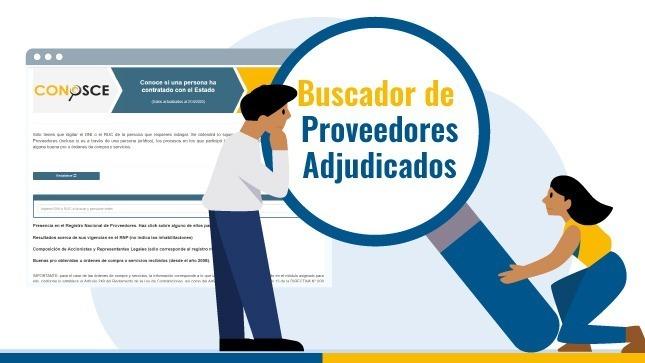 Consulta el Buscador de Proveedores Adjudicados