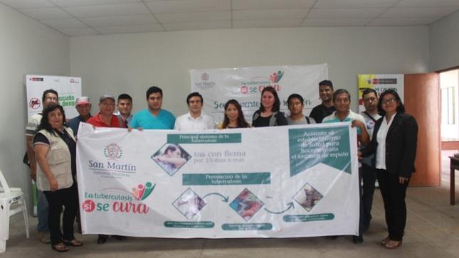 Ver campaña En San Martín se inició campaña de prevención de la Tuberculosis