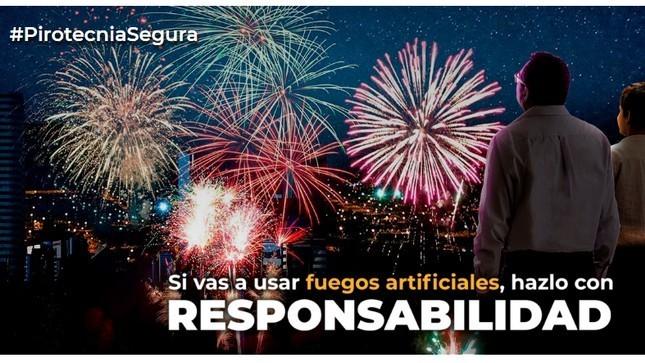Ver campaña Pirotecnia Segura 2019