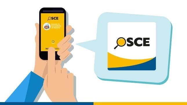 Ver campaña Descarga la nueva APP del OSCE con oportunidades para contratar con el Estado