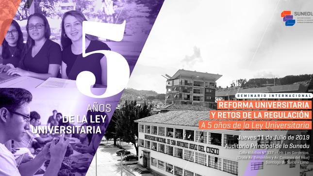 Ver campaña Seminario Internacional: Reforma Universitaria y Retos de la Regulación