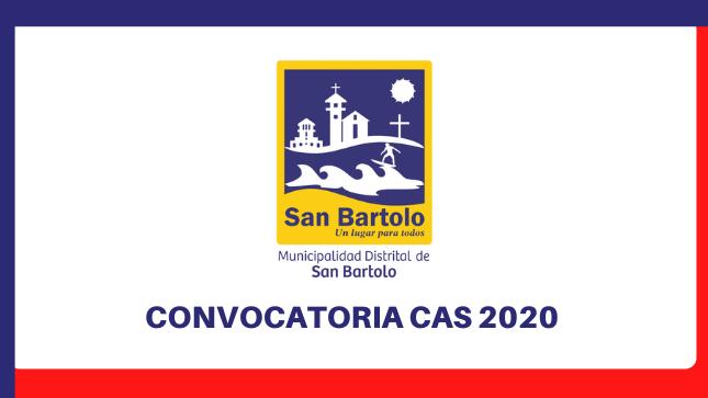 Ver campaña Convocatorias CAS 2020