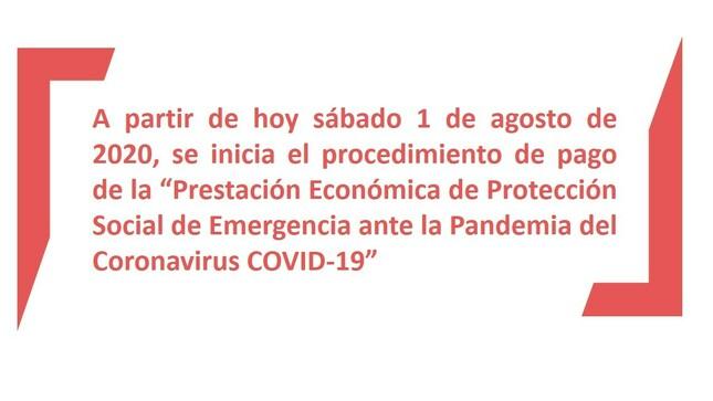 """Ver campaña Consulta sobre la """"Prestación Económica de Protección Social de Emergencia ante la Pandemia del Coronavirus COVID-19"""" de SPL"""