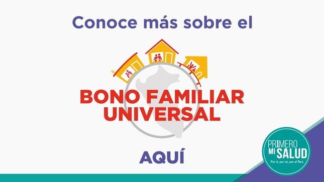 Ver campaña Bono Familiar Universal para Zonas Rurales