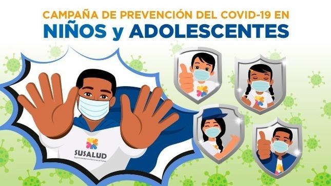 Ver campaña Campaña de Prevención COVID-19 en Niños y Adolescentes