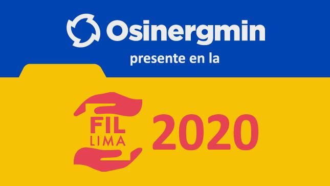 Ver campaña Osinergmin participa en la Feria Internacional del Libro de Lima 2020