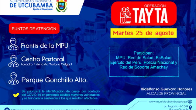 Ver campaña OPERATIVO TAYTA