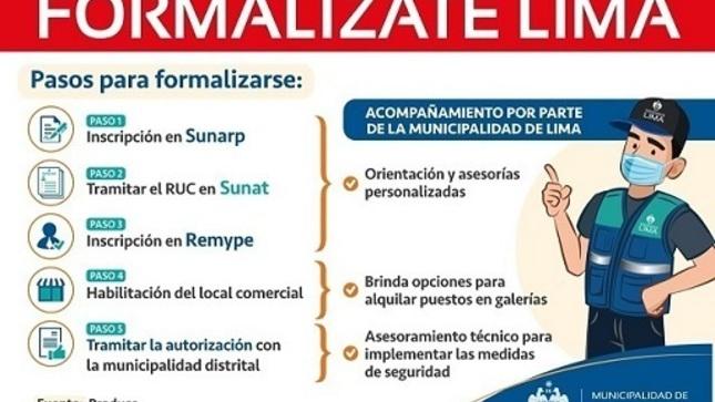 Formalízate Lima