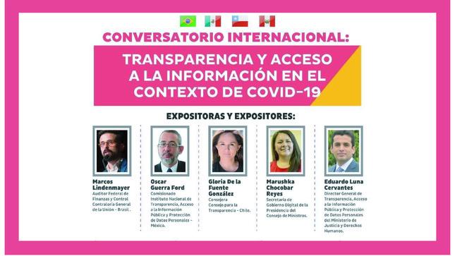 Ver campaña Transparencia y acceso a la información en el contexto de COVID-19