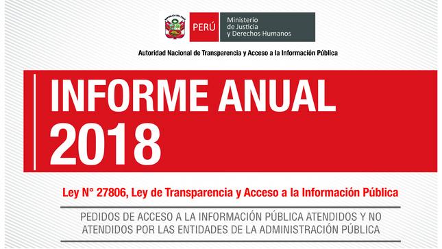Ver campaña Informe anual sobre solicitudes de acceso a la información pública 2018