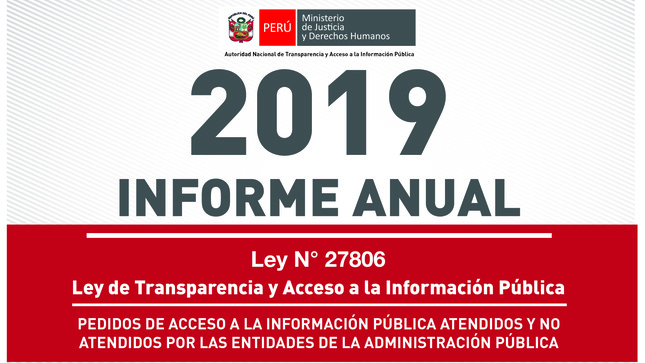 Ver campaña Informe anual sobre solicitudes de acceso a la información pública 2019